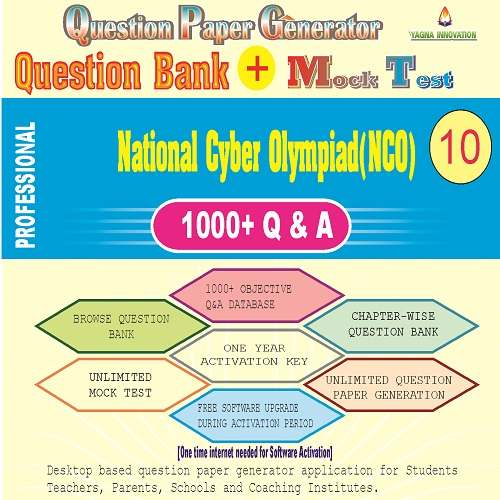 NCO (Class-10) Question Bank + Mock Test + Question Paper Generator