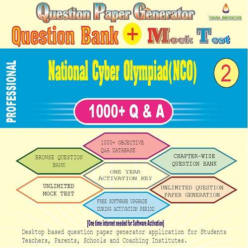 NCO (Class-2) Question Bank + Mock Test + Question Paper Generator