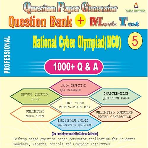 NCO (Class-5) Question Bank + Mock Test + Question Paper Generator