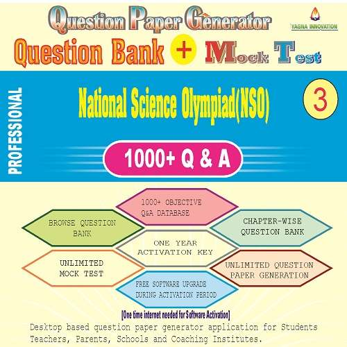 NSO (Class-3) Question Bank + Mock Test + Question Paper Generator
