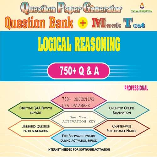 Basic Logical Reasoning Question Bank + Mock Test + Question Paper Generator