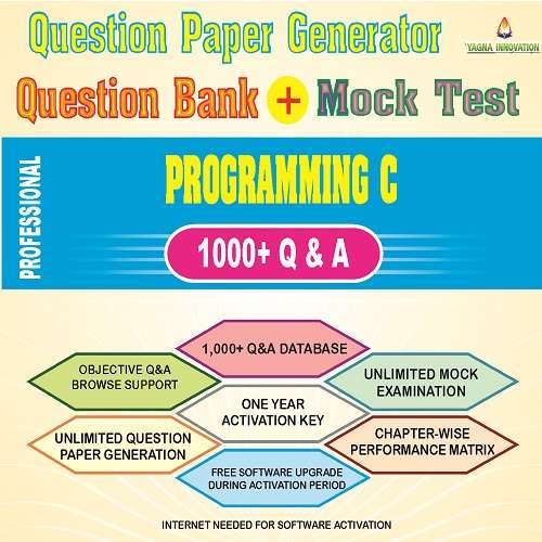 Program C Question Bank + Mock Test + Question Paper Generator