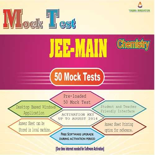 JEE[MAIN] Chemistry Mock Test