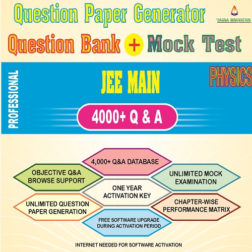 JEE Main Physics Question Bank + Mock Test + Question Paper Generator